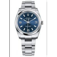 Rolex Air King Mens Automatic 114200 Blue Dial Manufactures