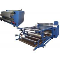 Wide Format Roller Heat Transfer Machine High Speed with Thermal Oil Manufactures