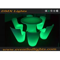 Banquent Led Bar Table , Dining led chairs and tables FOR Restaurant Manufactures