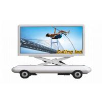 Large HD P10 Truck Mounted LED Display Outdoor For Advertising , Video LED Screen Manufactures