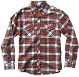 Pure cotton kids apparel plaid boys shirt with environment friendly reactive printing Manufactures