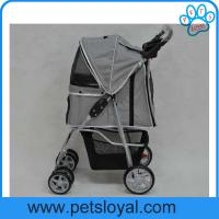 Manufacturer High Quality Collapsible Pet Trolley Dog Stroller Manufactures