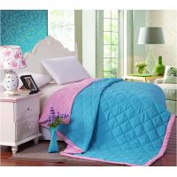 Filling Colorful Double Face Binding Microfiber Quilt Set Comforter For Summer Manufactures