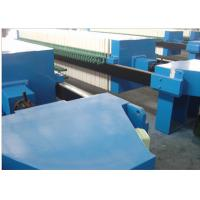 China Hydraulic Filter Press For Batch Filtration System In ETP / PP Plate 1000mm on sale