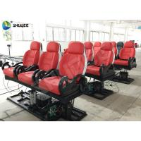 Realistic 6D Cinema Equipment With Excited Motion Chair And Cinema Special Effects Manufactures