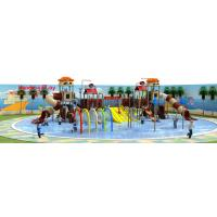 Fun Water Park Playground Equipment Safe Entertaining ISO9001 Certificate Manufactures