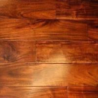 Solid Acacia Hand-scraped/Distressed Flooring with ABC Grade, Measures 18 x 123mm Manufactures
