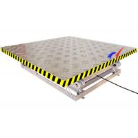 2 * 1.8m Platform Electric Lift Table Small Scissor Lift Table With 6m Lifting Height Manufactures
