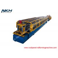 Z Purlin Roll Forming Machine Pre Punching / Post Cutting Steel Roll Forming Machine Manufactures