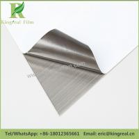 China Supplier Black and White Anti Scratch Protection Stainless Steel PE Film Manufactures