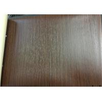 Rigid Touch Pvc Film For Lamination Deep Embossed Wood Grain For Decoration Manufactures