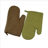 China Cotton OEM Printed Oven Mitts Heat Transfer Printing For Home Restaurant on sale