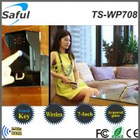 7 inch digital wireless video peephole door phone intercom system Manufactures