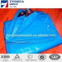 Fabric PE Tarpaulin transparent eyelets cover / sheds of Tarpaulins used Manufactures
