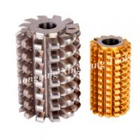 HSS M2 Material Roller Chain Sprocket Hob with TiN Coating Manufactures