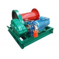 China Small Capacity Lifting Electric Motor Winch 1 Ton For Steel Factory Compact Structure on sale
