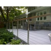 Exterior cable rails design wire railing for porch/ balcony with cheap price Manufactures
