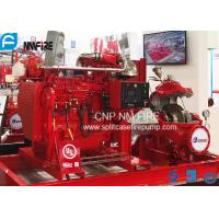 Industrial High Pressures Split Case Fire Pump Centrifugal 1000GPM / 175PSI Manufactures