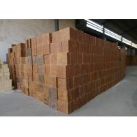 Mullite Silica Refractory Bricks Bauxite Chamotte Material Brown Color For Cement Kiln Manufactures