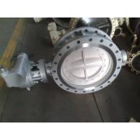 High performance WCB / WCC / WC6 Flanged Butterfly valve API598 Manufactures