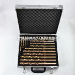 sparkless beryllium copper 15pcs twist drill bit 12*220,13*240mm Manufactures
