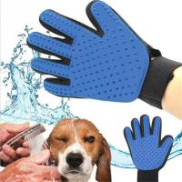 Pet Grooming Glove For Cats Hair Brush Comb Dog Cleaning Massage Glove Animal Deshedding Gloves Effcient Bath Silicone C Manufactures