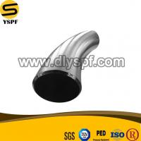 China Carbon Steel Butt Welding Pipe Fitting BW 45Degree Pipe Bend on sale