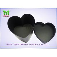 Custom Printed Handmade Cordiform Hat packaging Gift Boxes Black color Manufactures