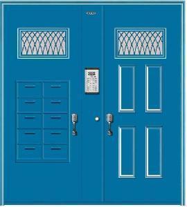 China Main Entrance Door Design (BG-FB9012) on sale