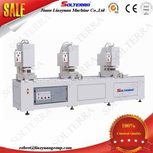 UPVC Windows Three Head Seamless Welding Machines SHZ3C-120x3500