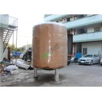 Stainless Steel  RO Water Storage Tank For Storing Beer ,Milk , Drinking, Beverages Manufactures