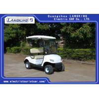 China ADC Motor 2 Seater Artificial Leather  Electric Powered Golf Carts for  Golf Course on sale