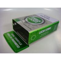 Metal Cigarette Tin Can With Printed Embossing , Personalised Cigarette Tin Manufactures