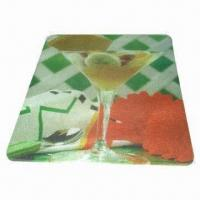 Breakfast Cutting Board/Plate, Made of Toughened Glass Manufactures