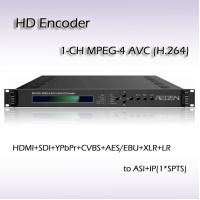 Digital TV HDMI SDI CVBS Ypbpr TO ASI&IP MPEG-4 AVC/H.264 HD Encoder REH2201 Manufactures