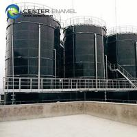 Glass - Fused - To - Steel Bolted Biogas Storage Tank With 30 Years Service Life Manufactures