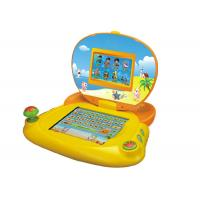 China Lovely Yellow baby learning tablet for early education , kids learning laptop on sale