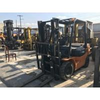 Hot Sale 3 Ton Used Japan Toyota Forklift FD30 Max Lifting 3 Meter , High Qaulity and Cheap Price Manufactures