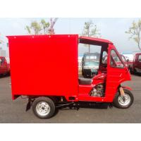 200cc CDI Motorized Three Wheel Cargo Motor Tricycle With Air Cooling Manufactures