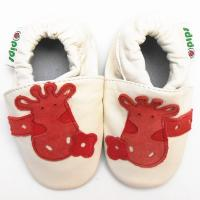Quality Baby Boys Tassels Soft Sole Genuine Leather Shoes With Stars for sale