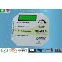 Flat Glossy Anti - UV Polyester Membrane Switch Transluent LCD Window Overlay Gradual Color 0.125mm Manufactures