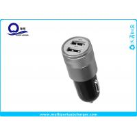 Quality 10W Mini Dual USB Car Charger , Mobile Phone Car charger for iPhone 7 5s for sale