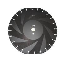 Quality Vacuum Brazed Diamond Saw Blades / Diamond Disc Cutter Blades For Fire Fighting for sale