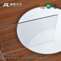 Lightweight Custom Cut Acrylic Sheets 18mm Thick For For Electronic Equipment Access Panels Manufactures