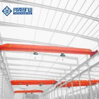 China Mobile monorail Single Beam Overhead Travelling Crane With Electric Hoist on sale