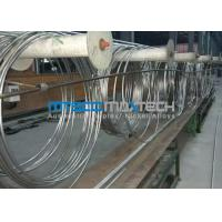 TP304 Stainless Steel Coiled Tubing ASTM A269 Manufactures
