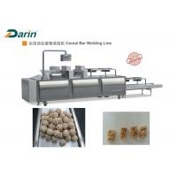 Automatic Stainless Steel Energy Bar Manufacturing Equipment Cereal Bar / Ball Forming Manufactures