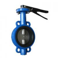 Chemical Processing Water Butterfly Valve Half Shaft Motorized Butterfly Valve Manufactures