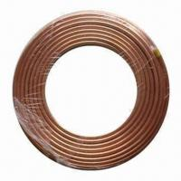 China Pancake Copper Tube Coil, Available in Various Specifications on sale