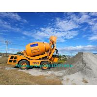 Quality Computerized Road Construction Equipment , Small Concrete Mixer Machine All Wheel Drive for sale